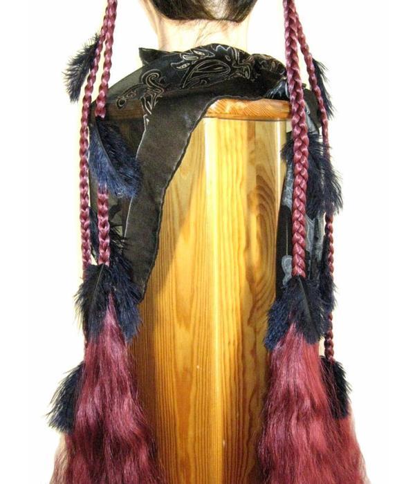 Fantasy Feather Hair Piece