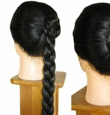 2 Twist Braids S size, crimped hair