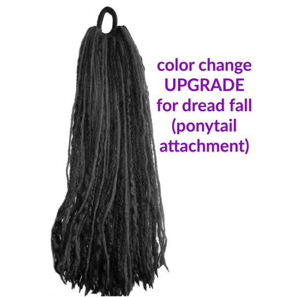Color customization for dread falls