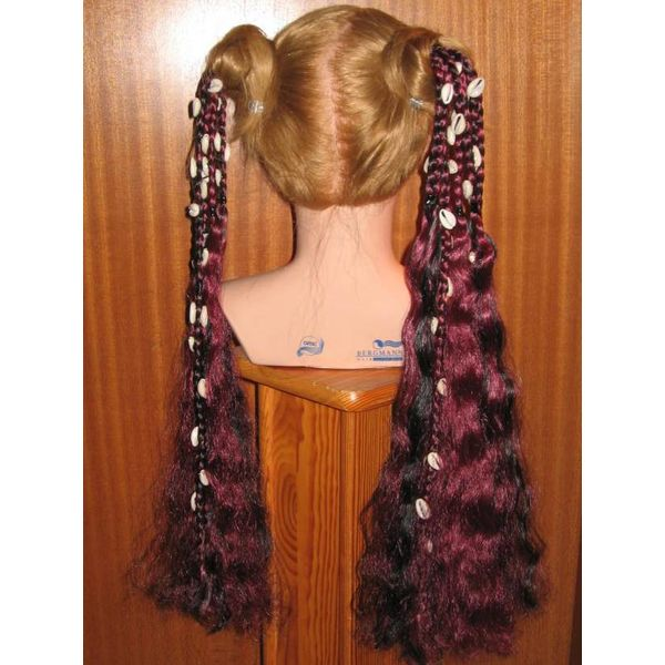 Tribal Fusion Hair Falls Cowry-Mermaid