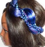 Mermaid Headband northern lights colors
