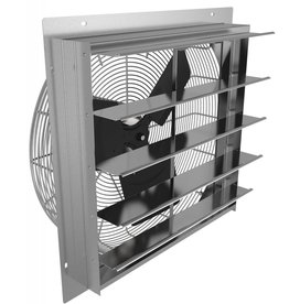 "Fan Tech 24"" Direct Drive Shuttered Exhaust Fan"