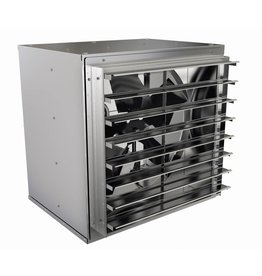 "Fan Tech 48"" Wall Mount Cabinet Premier Greenhouse Exhaust Fan"