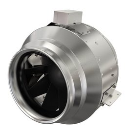 "Fantech 14"" ECM Inline Mixed Flow Fan, 2,430 cfm, 115V"
