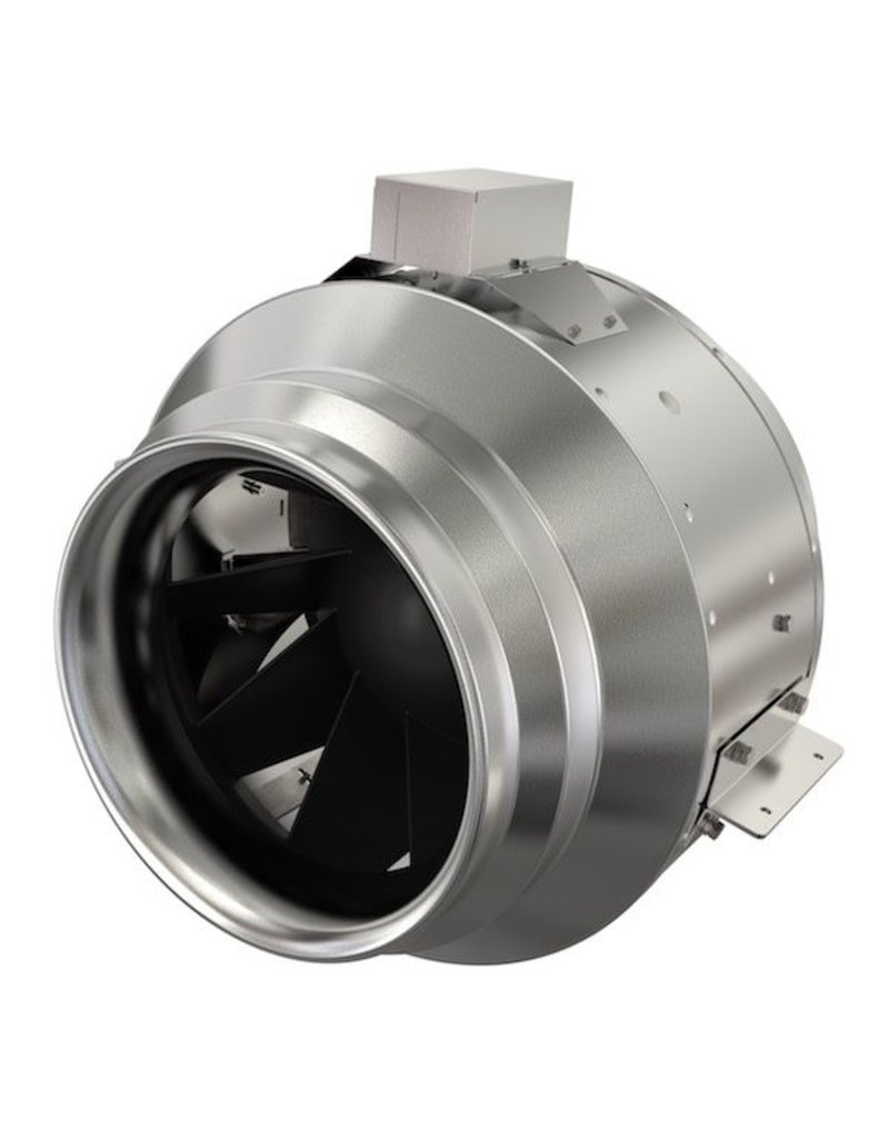 """Fan Tech 20"""" Inline Mixed Flow Fan, 6,291 cfm, 230-460V 3~"""