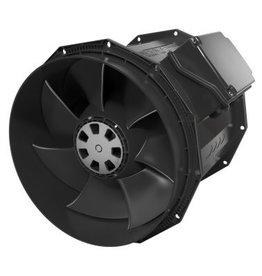 """Fantech Fantech 10"""" Inline Mixed Flow Fan, Molded Housing, EC Motor, 1237 CFM, 1ea, W/Cord"""