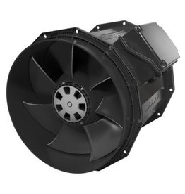 "Fantech Fantech 8"" Inline Mixed Flow Fan, Molded Housing, EC Motor, 811 CFM, 1ea, W/Cord"