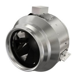 "Fantech 8"" Inline Mixed Flow Fan, 820 cfm, 230V, W/O Cord"