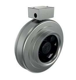 "Fantech Fantech 12"" Inline Centrifugal Fan, 633 CFM, 120V, EC Motor, W/Cord"
