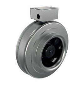 "Fantech Fantech 4"" Inline Centrifugal Fan, 180 CFM, 120V, EC Motor, W/Cord"
