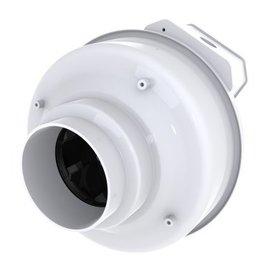 "Fantech Fantech 4"" Inline Centrifugal Fan, Molded Housing, 122 CFM, 120V, W/O Cord"