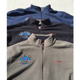 Simms Waderwick Logo Thermal Quarter Zip Fleece