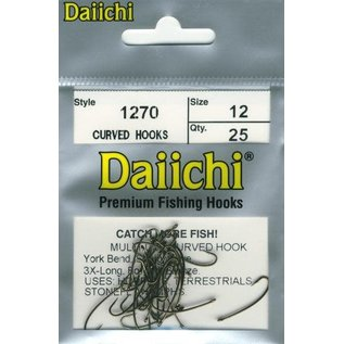 Daiichi Daiichi 1270 Multi-Use Curved Hooks