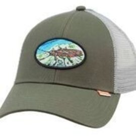 Simms Fishing Simms Salmon Fly Patch Trucker