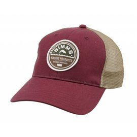 Simms Fishing Simms Patch Trucker Cap Malbec