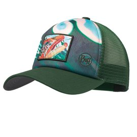 Buff USA DeYoung Brown Callibaetis Trucker Cap