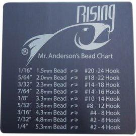 Rising Fish Rising Bead Chart Coaster