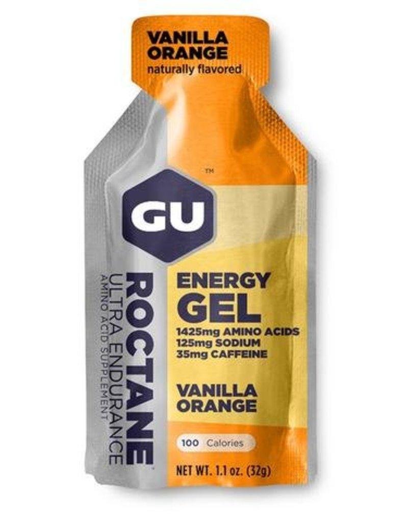 GU GU Roctane Energy Gel: Vanilla-Orange