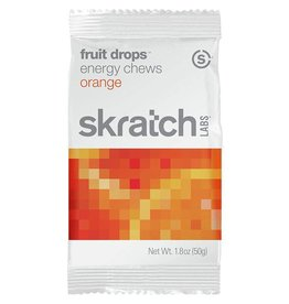 Skratch Labs Skratch Labs Fruit Drops Energy Chews: Orange