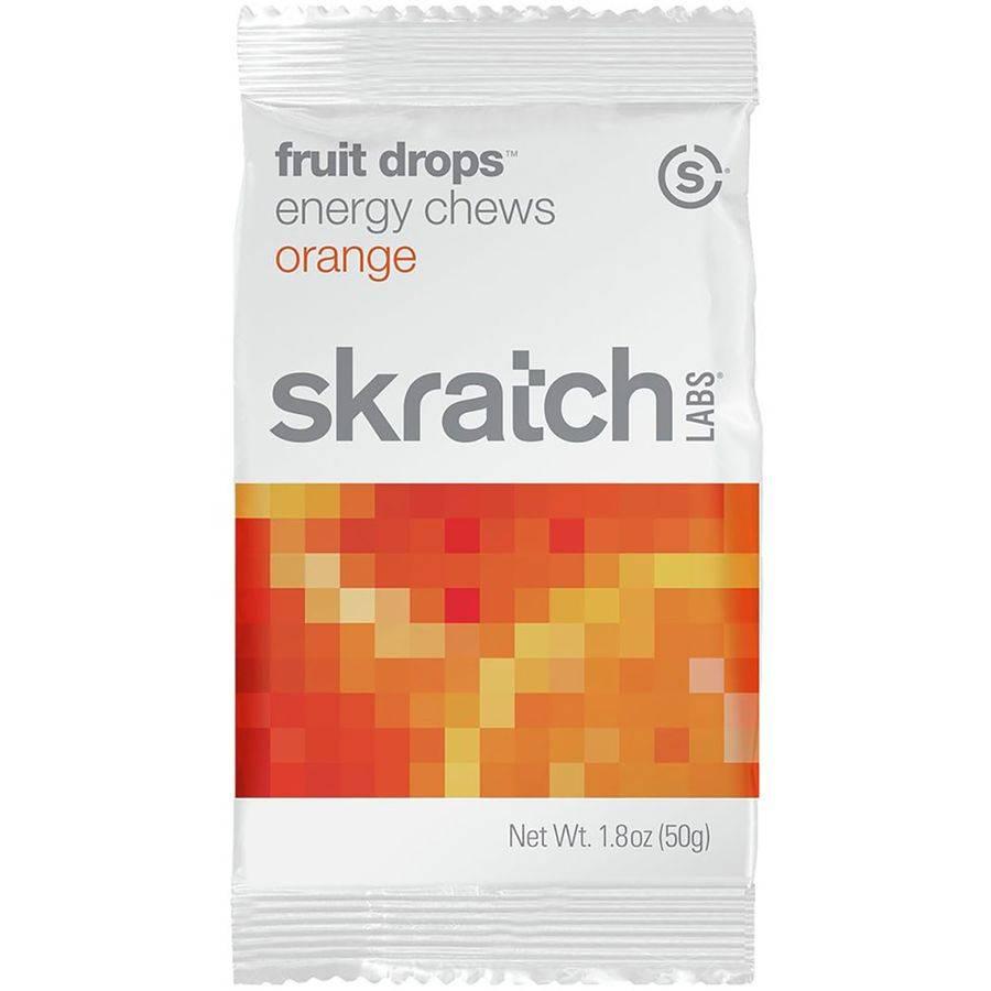 Skratch Labs Skratch Labs Fruit Drops Energy Chews: Orange