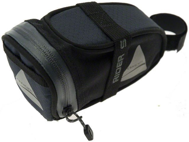 Axiom Axiom Rider DLX Seat Bag: Black/Gray~ SM