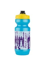 All-City All-City Purist Water Bottle: 22oz, Wildstyle Graphics