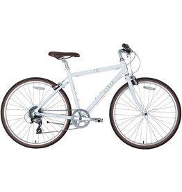 Civia Venue Bike: 1x8 White MD