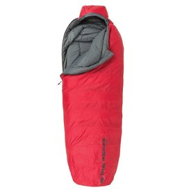 Big Agnes Inc. Big Agnes, Inc. Gunn Creek 30F Sleeping Bag: Synthetic, Red, Regular
