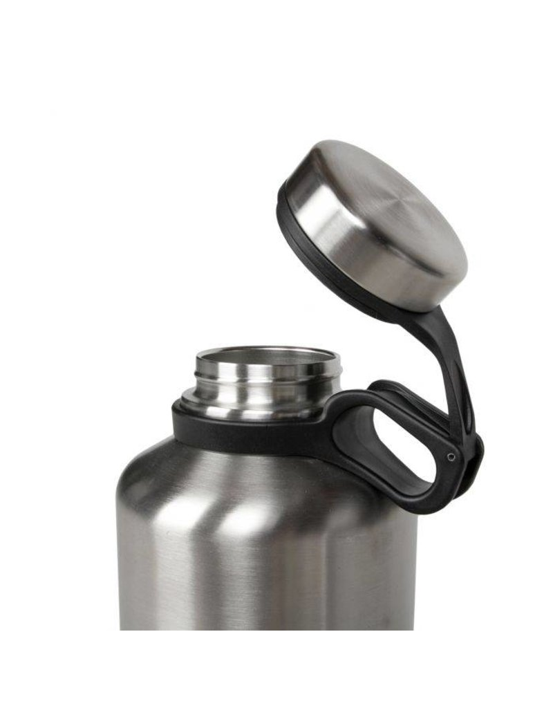 GSI OUTDOORS GSI Outdoors Glacier Stainless Craft Growler: 64oz, Brushed