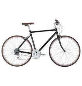 Civia Venue 700c Bike: 3x8 Drivetrain, Black LG