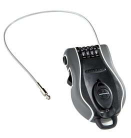 Kryptonite Kryptonite R-2 Retractable Combo Cable Lock: 3' (90cm)