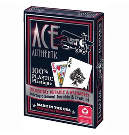 Ace Playing Cards Ace Authentic Plastic Casino Playing Cards