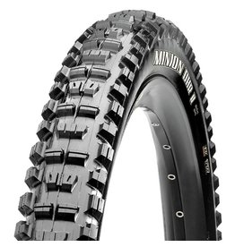 "Maxxis Maxxis Minion DHR II 27.5x2.80"" Tire 120tpi, 3C Maxx Terra Compound, EXO Casing, Tubeless Ready, Black"