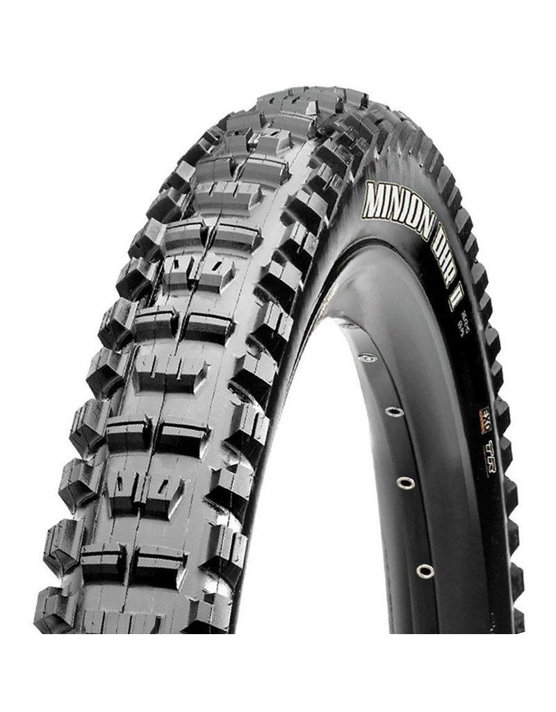 "Maxxis Maxxis Minion DHR II 27.5x2.80"" Tire 120tpi, 3C Maxx Terra Compound, EXO Casing, Tubeless Ready, Black"