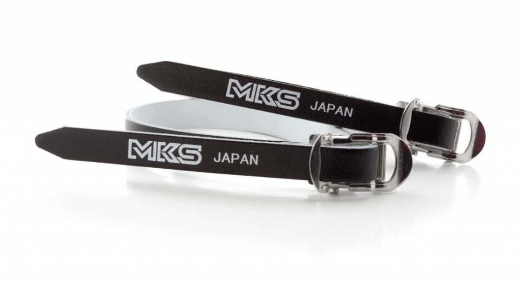 MKS MKS Leather Toe Straps 420mm Long Black