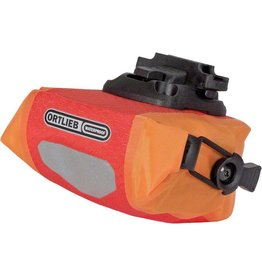 Ortlieb Ortlieb Micro Saddle Bag: Red/Orange