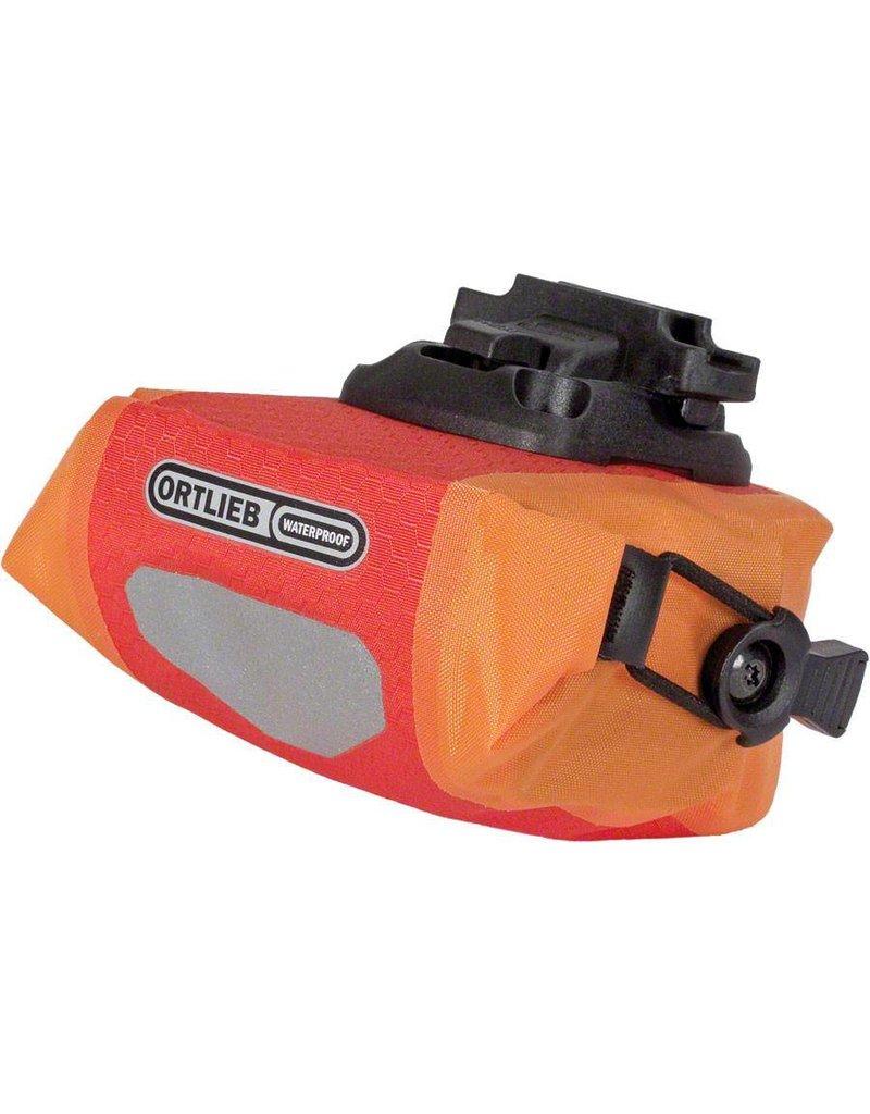 Ortlieb Ortlieb Micro Saddle Bag: Red/Orange