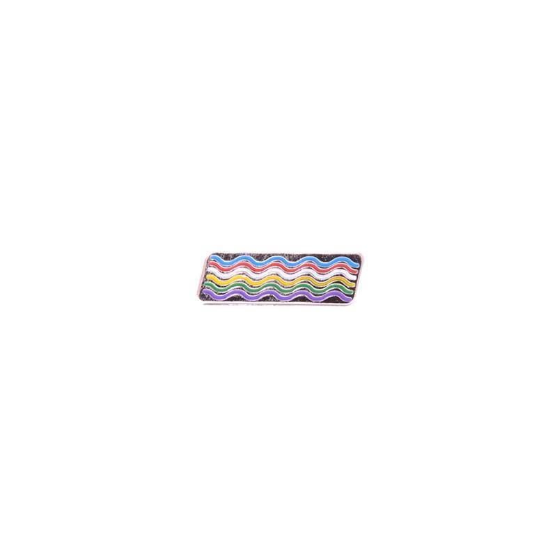 Explorers Press EP Waves Lapel Pin