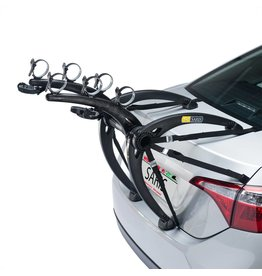 Saris Saris Bones Trunk Rack: 3-Bike Black