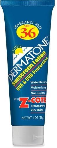 Dermatone Dermatone SPF 36 Sunscreen with Z-Cote: 1oz Tube