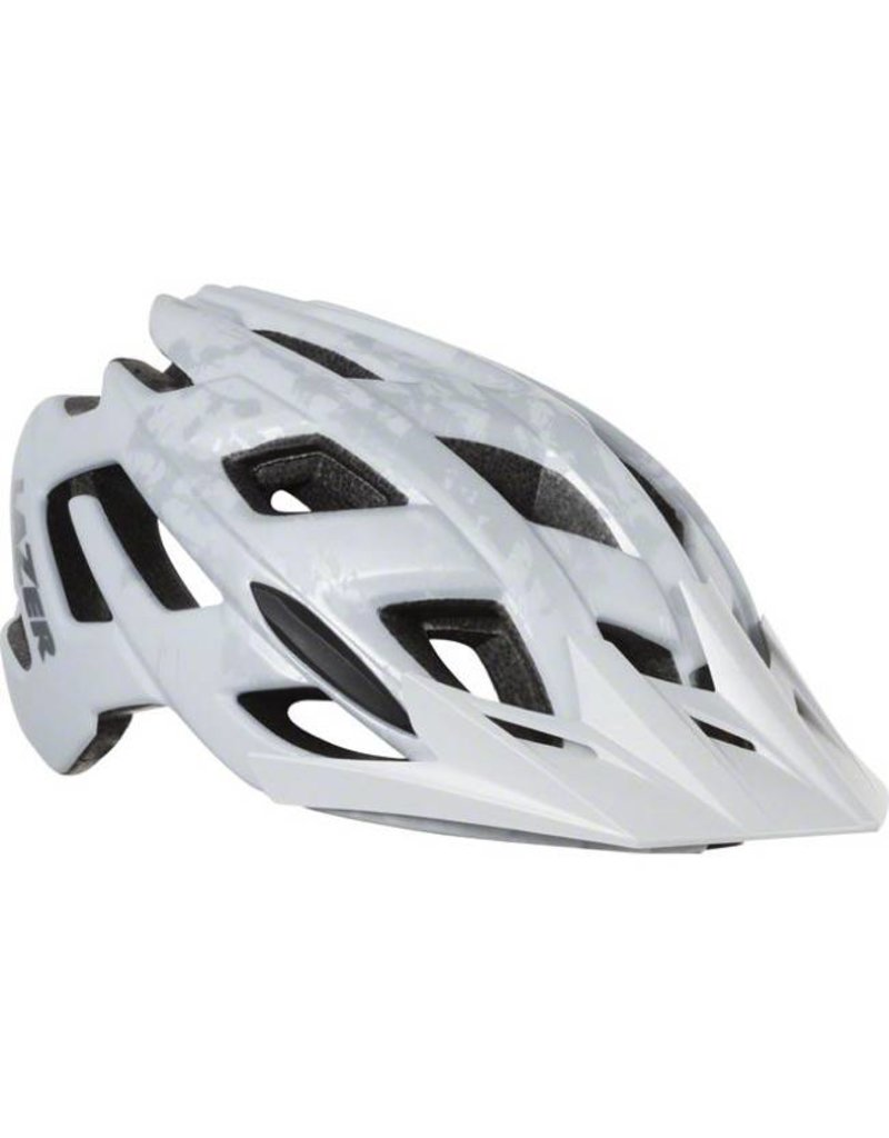 Lazer Lazer Ultrax Plus Helmet with Advanced Turnfit System: White Silver MD