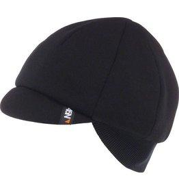 45NRTH 45NRTH Dozer Merino Cycling Cap: Black, One Size