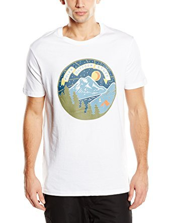 Poler Poler Men's Camp Time T - White - SM