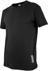 POC POC Resistance Enduro Light Men's Tee: Carbon Black LG
