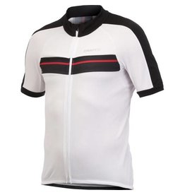 Craft Craft Active Bike Classic Cycling Jersey: White/ Black/ Red: SM