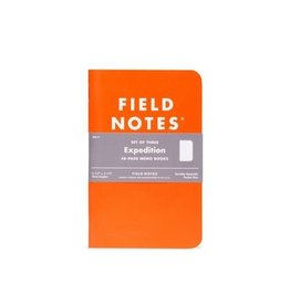 Field Notes Field Notes Expedition 3-Pack