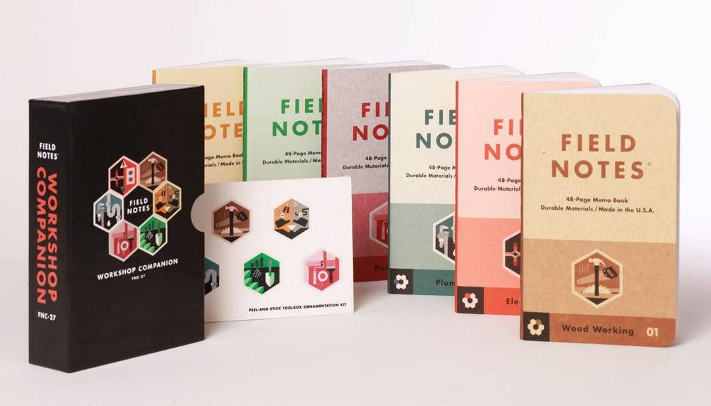 Field Notes Field Notes Workshop Companiion 6 Pack