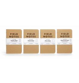 Field Notes Field Notes Original Kraft Graph 3-Pack