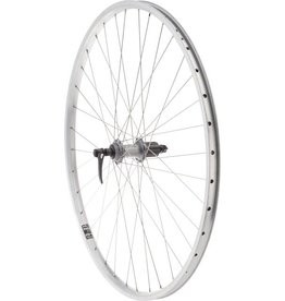 Quality Wheels Quality Wheels Value XL Rear Wheel 700c Shimano 130mm Hub / Velocity NoBS Rim, Raw, 36h