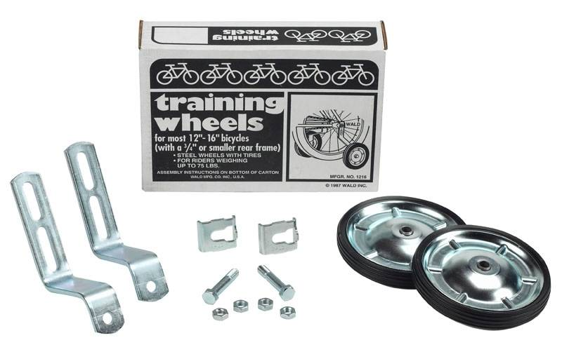 Wald Wald 1216 Training Wheels Kit: 12 - 16""